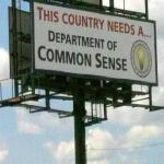 dept of common sense