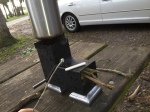 Backpack Rocket Stove