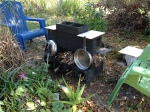 In Line Double Burner Rocket Stove