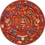 art Mayan calendar